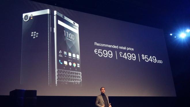 BlackBerry KEYone Ceny