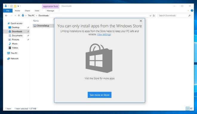 windows 10 blokada instalacji
