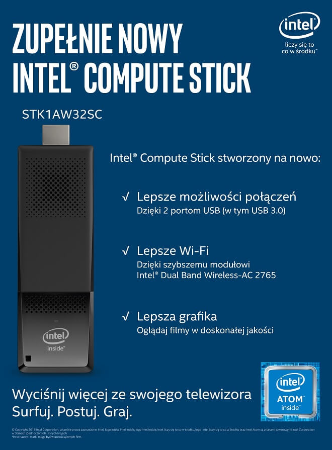intel compute stick 1