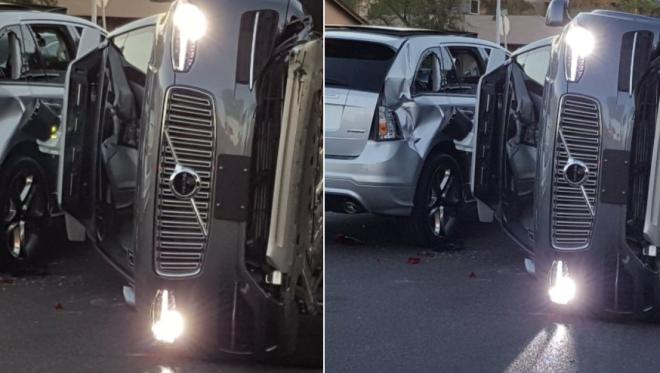 uber wypadek