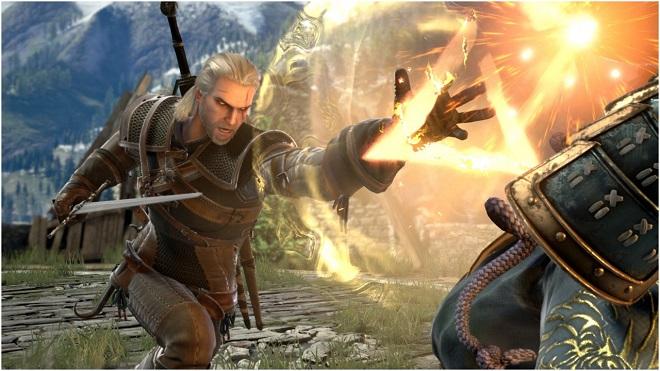 Geralt SouCalibur VI