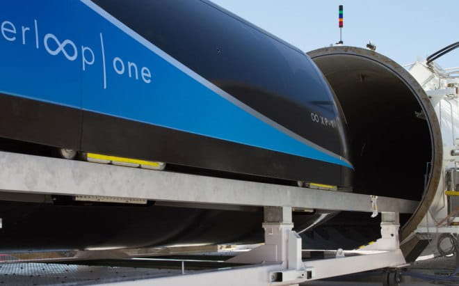 hyperloop one kapsula