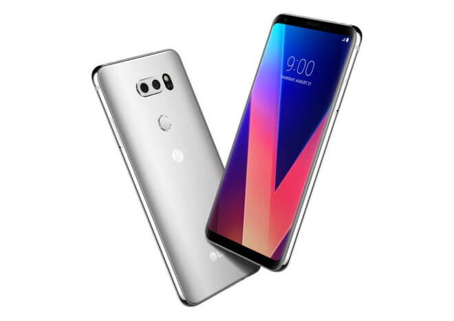 large LG V30 Cloud Silver