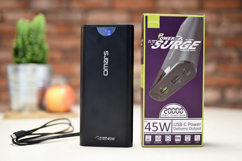 Omars Power Surge 20000 mAh 3